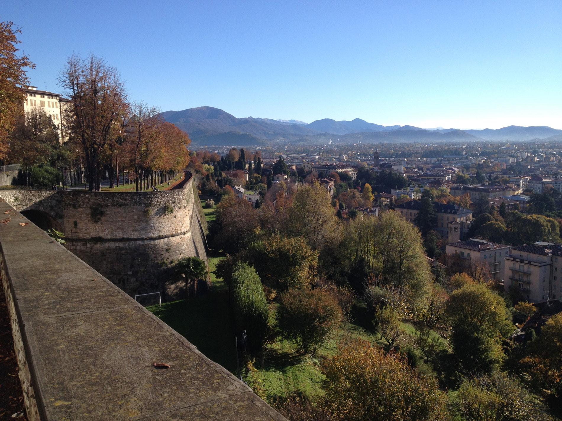 Bergamo do alto