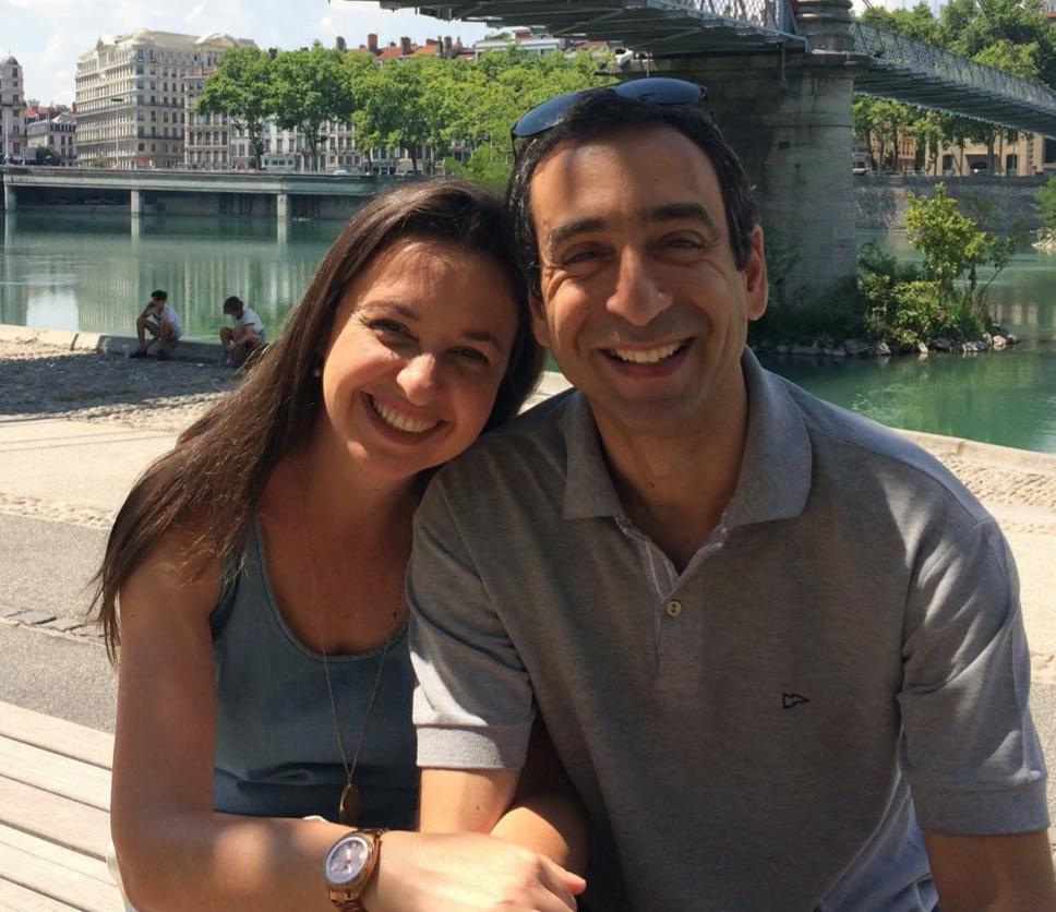 Eneida Villa e Luis Hachich